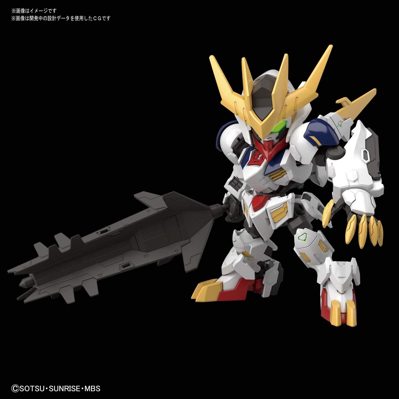 Bandai SD Gundam Cross Silhouette Gundam Barbatos Lupus Lex Plastic Model Kit