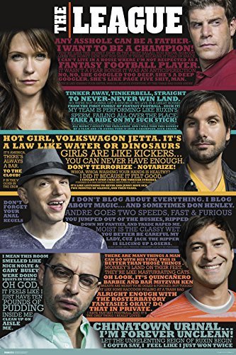 The League - Quotes Poster Print