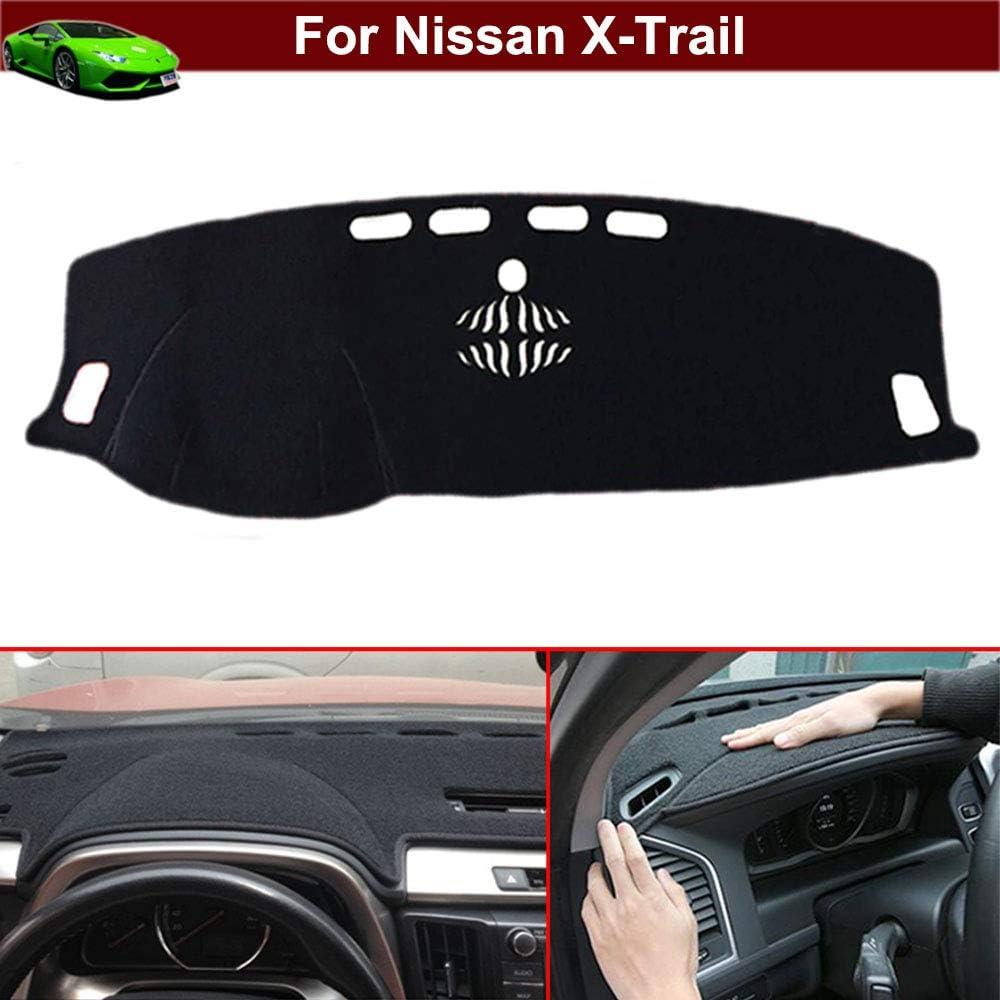 New 1pcs Black Non-Slip Dash Mat Dashboard Mat Dash Carpet Dash Covers Dashboard Cover Custom Fit for Nissan X-Trail 2014 2015 2016 2017 2018 2019 2020