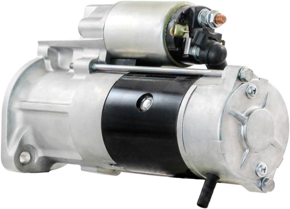 Rareelectrical New Starter Compatible With TCM Forklift Bomag Kubota V3300 By Part Numbers 1K012-63011 1K01263012 M008T50471 M8T50471 M8T50472 M8T50473 M008T50472 M008T50473 M8T50471 1K01263011