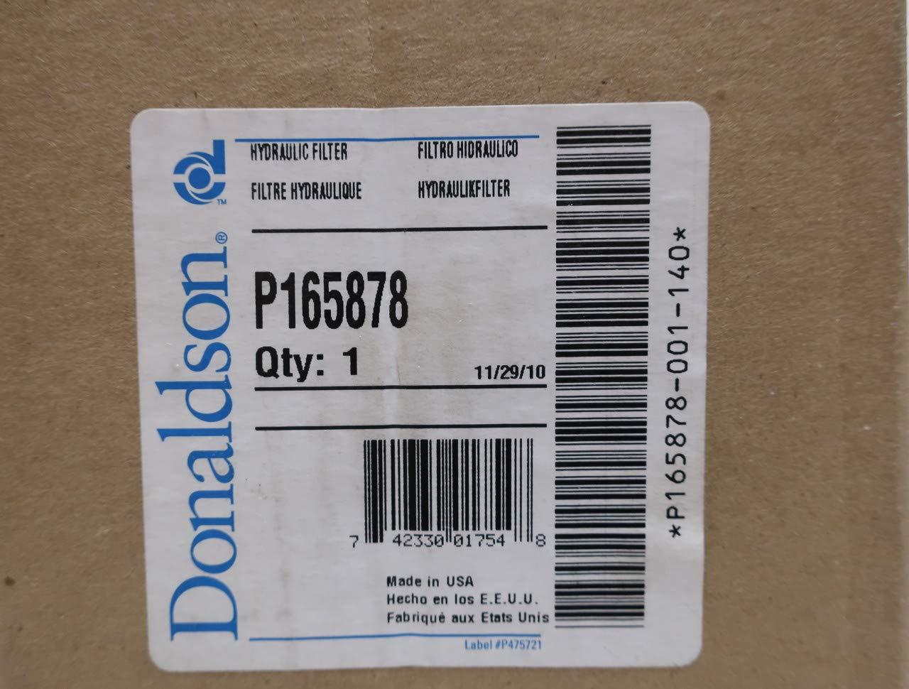 DONALDSON P165878 Hydraulic Filter Element R694988