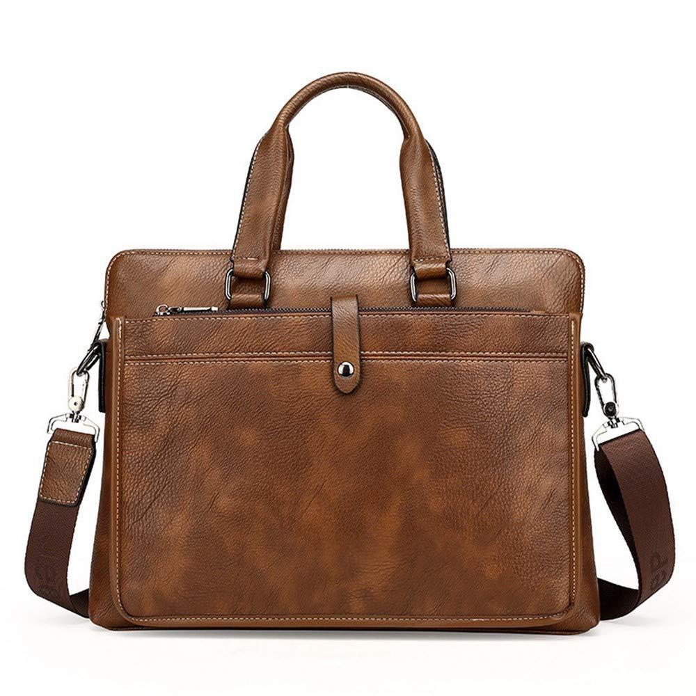 Lianai11 Laptoptasche Computer Handtasche Aus Weichem Leder Mode Aktentasche Leder Laptop Tasche