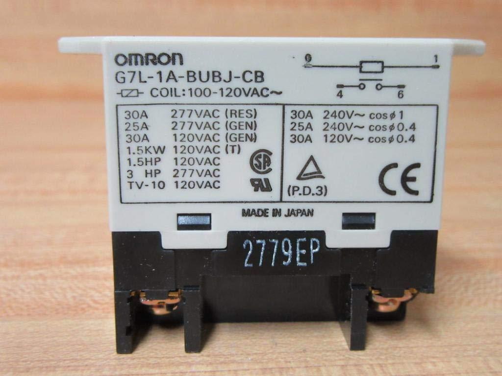 Omron Relé G7L-1A-T 24VDC 30AMP Nuevo