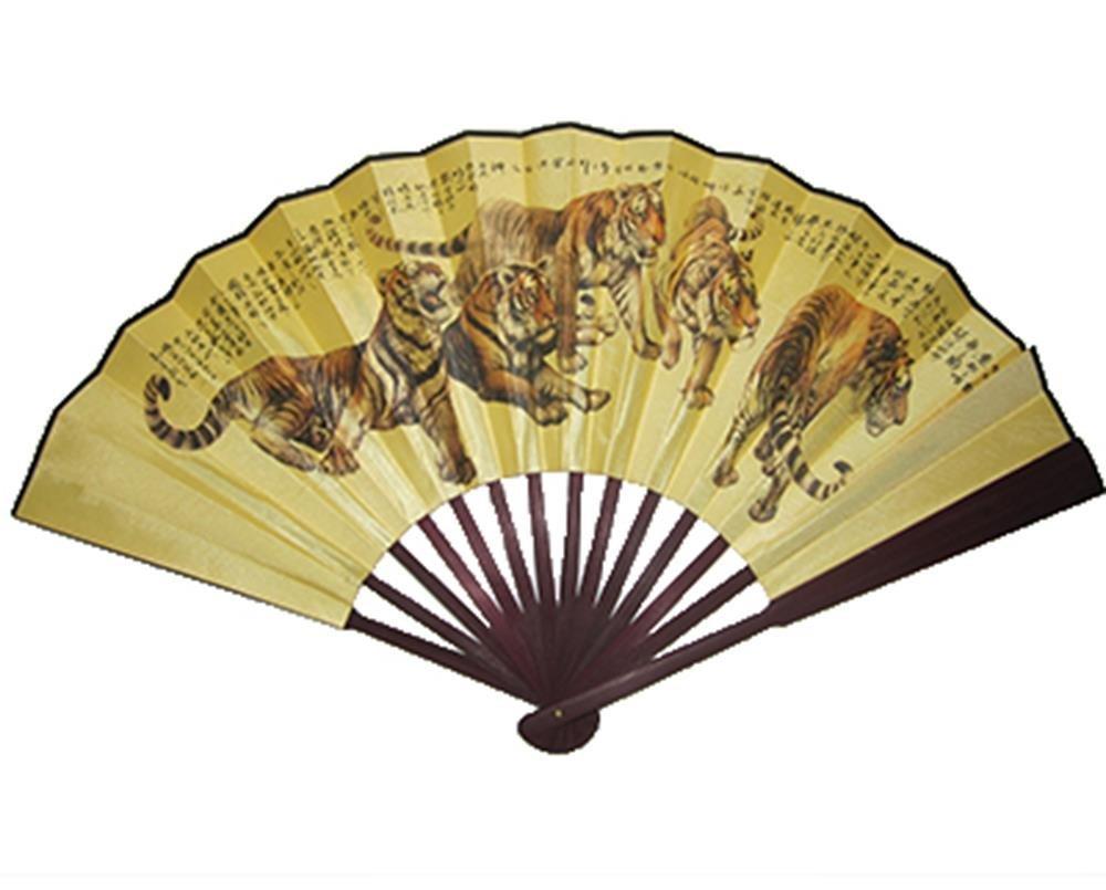 StealStreet SS-MU-FAN113 Five 13 inch Tigers Fan