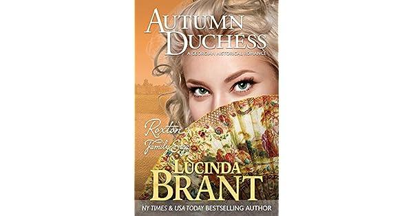 Amazon.com: Autumn Duchess: A Georgian Historical Romance ...