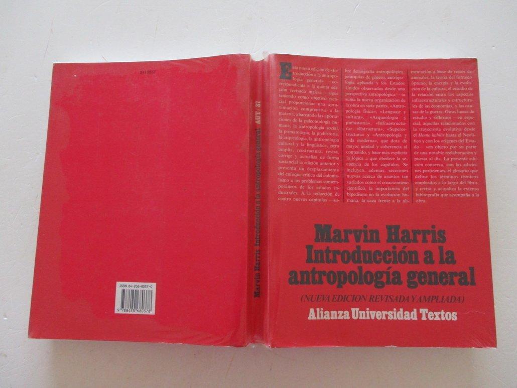 INTRODUCCION A LA ANTROPOLOGIA GENERAL: Marvin Harris: 9788420680378: Amazon.com: Books