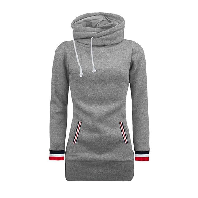Sudadera mujer Blusa de manga larga suéter Jersey tops by LMMVP: Amazon.es: Deportes y aire libre