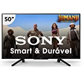 "Smart TV, LED, 50"", Sony, KDL-50W665F, Full HD, Preto"