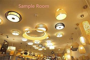 WOSHIDENG Moderna Familia/Sala de Estar/Dormitorio lámpara ...