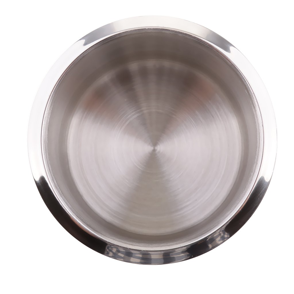 68x55mm 5 Pieces Stainless Steel Cup Drink Holders for Marine Boat Yacht RV Camper Truck