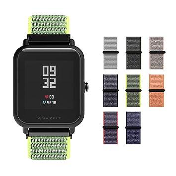 Correa Bradley Timepiece SIKAI 20mm Smartwatch Band Reemplazo de Reloj Pulseras de Repuesto Deportivas Strap de la Muñeca Accesorios para Garmin ...