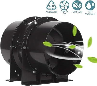Ventilador extractor HG POWER Silencioso Axial flujo mixto en ...