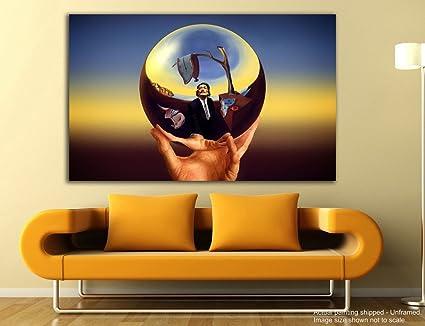 Tamatina Canvas Painting - Magic Ball - Salvador Dali - Modern Art ...