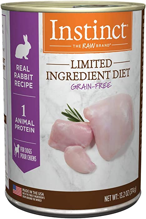 Instinct Limited Ingredient Diet Grain Free Recipe Natural Wet Canned Dog Food