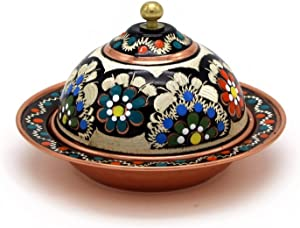 Handmade Copper Turkish Delight Candy & Sugar Mini Bowl