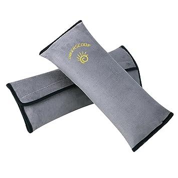 2x Adult Kid Memory Foam Car Seat Belt Safety Pad Shoulder Strap Cushion Mat