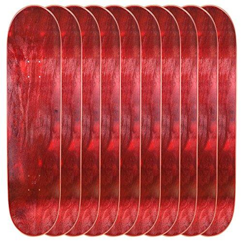 調停するモート爆発するCal 7空白Mapleスケートボードデッキ( Bundle of 10 )
