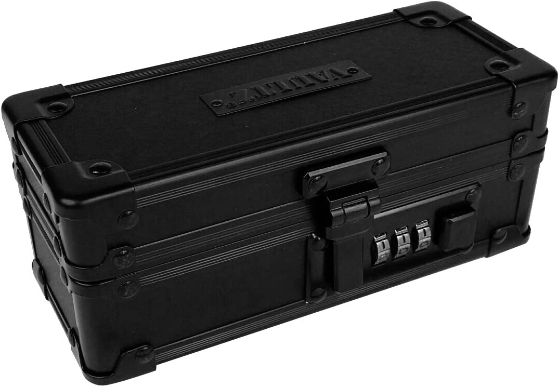 VaporVaultz Padded Mod Box, 2.7 x 6.5 x 2.68 inches, Black (VZ00847)