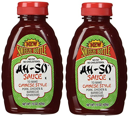 Style Southwest Chicken - AH-SO Chinese Style Bbq Sauce, 15 Ounce, 2 pk