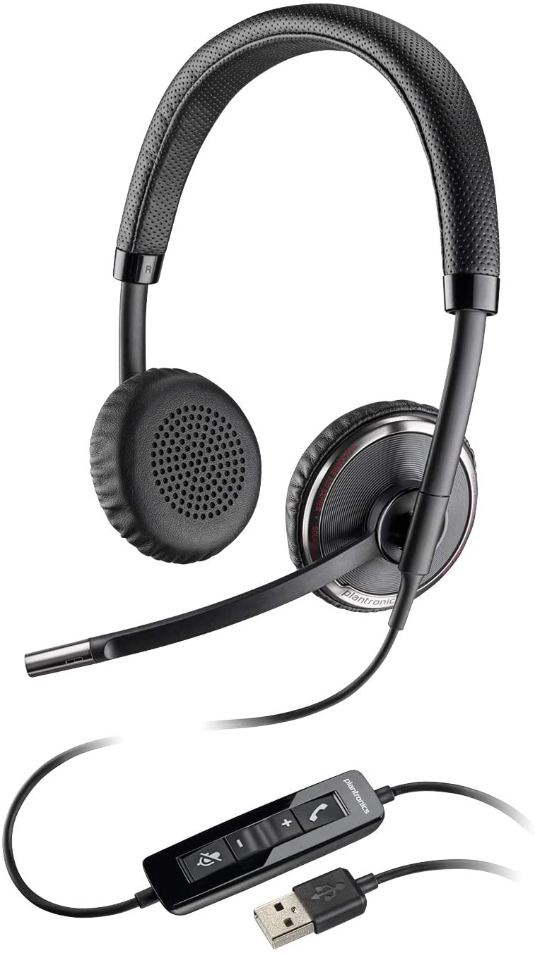 Plantronics Blackwire Duo C220-M Headset USB