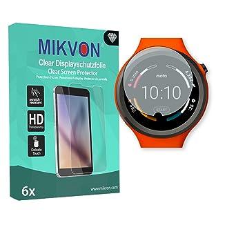 MIKVON 6X Clear Película protección de Pantalla para ...