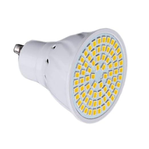 Bombillas de vela Proyector LED GU10 72LED 7W (Reemplazo ...