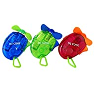 O2-Cool Carabiner Water Misting Fan, Colors May Vary (1 Fan Included)