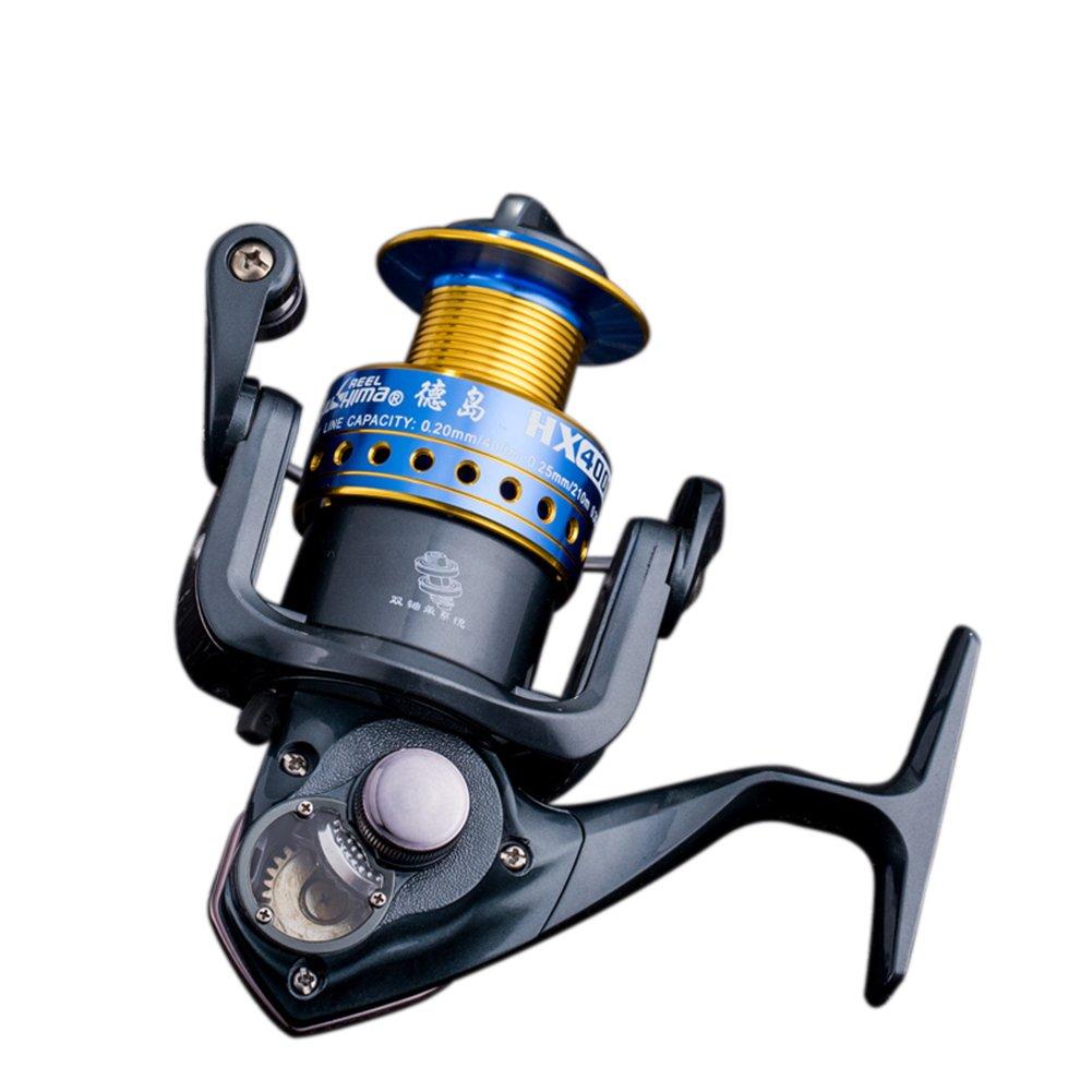 [ all-metal Saltwaterスピニングリール] Professionalアウトドアスポーツメタル強力腐食抵抗釣りリール左/右高速軸受スピニングリールギアの釣り愛好家 5000 B B01MSLTXB1