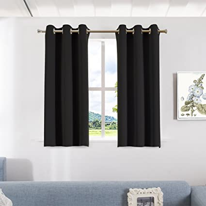 Exceptional Aquazolax Blackout Curtain Panels For Bedroom Windows Thermal Insulated  Grommet Top Blackout Draperies And Drapes,