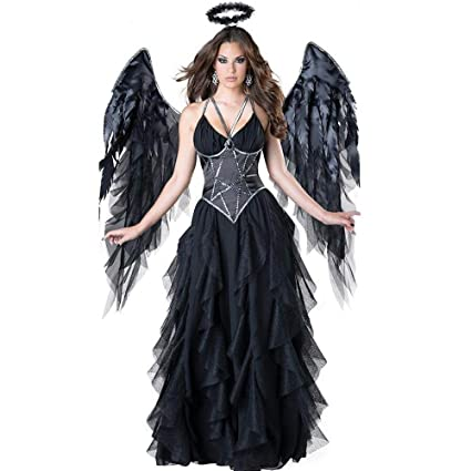 Yunfeng Halloween Bruja Disfraz para Mujer Traje de ...