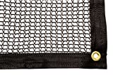 Be Cool Solutions 30% Black Outdoor Sun Shade Canopy: UV Protection Shade Cloth| Lightweight, Easy Setup Mesh Canopy Cover with Grommets| Sturdy, Durable Shade Fabric for Garden, Patio & Porch 6'x12'