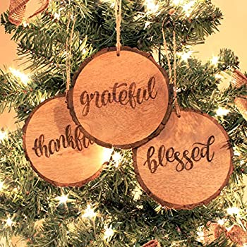 Rustic Style Christmas Ornaments