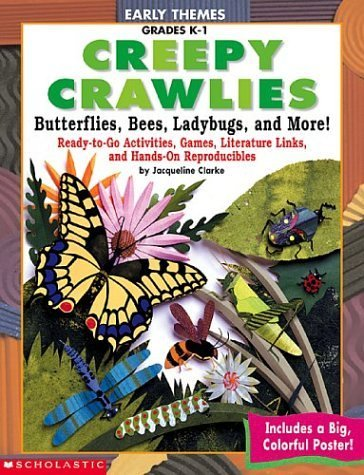 Download Early Themes Creepy Crawless-Bees, Ladybugs, Butterflies, and More ebook