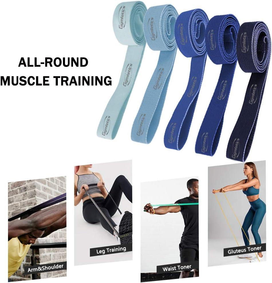 Powerlifting Crossfit en latex naturel KINGLETIC/® Loop Bands /Élastiques de R/ésistance pour Gym eBook