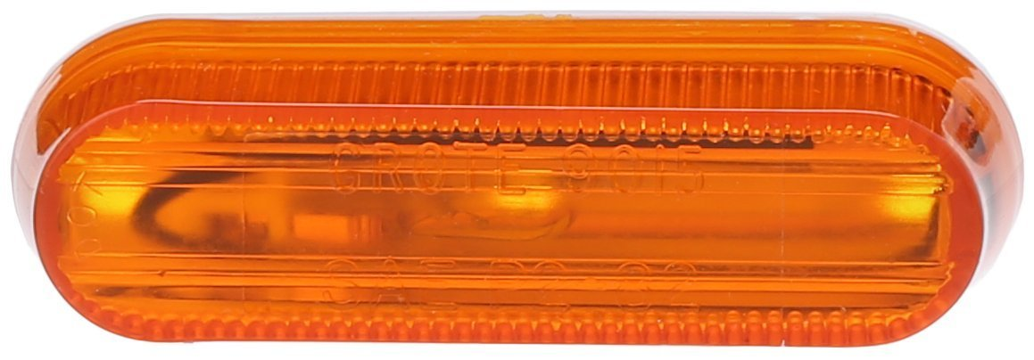 Grote 45253 Yellow Thin-Line Single-Bulb Clearance Marker Light