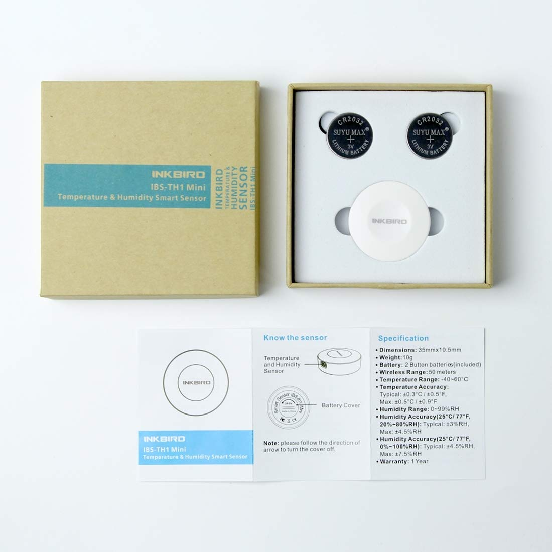 IBS-TH1 Mini Digital Wireless Blautooth Thermometer Hygrometer Smart Sensor Sensor Sensor Datenlogger Kompatibles iPhone Android B07PDF72MJ | Hochwertige Materialien  f18a9d