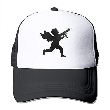 Amazon.com  Vanilla Ice Cupid Logo Adult Trucker Dad Hat Baseball Mesh Hat  Sports Cap Snapback Cap  Clothing ed58ec41ee2