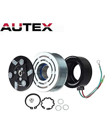 AUTEX AC A/C Compressor Clutch Coil Assembly Kit 80221SWAA02 38810RRBA01 4918U1 Replacement for 2006