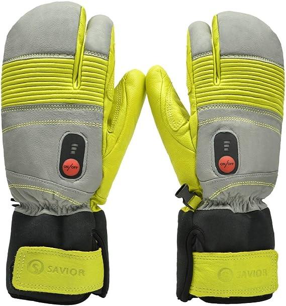 Savior Beheizte Handschuhe Mit Wiederaufladbare Lithium Ionen Batterie Beheizt Für Männer Und Frauen Arbeitet Bis Zu 2 5 6 Stunden Xxl Grün Bekleidung