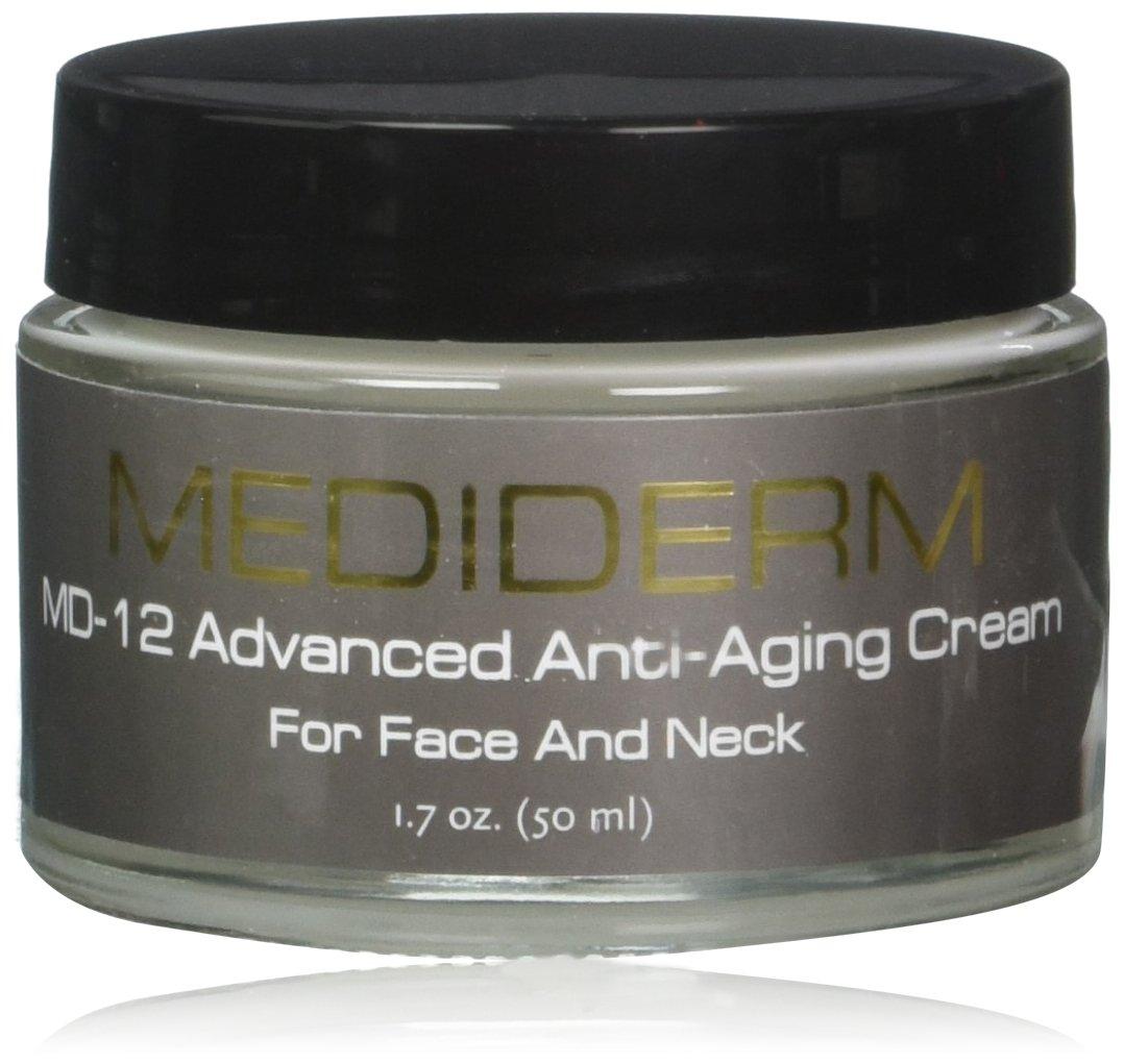 Mediderm MD-12 Anti Wrinkle Neck Lift Cream and Crepe Eraser