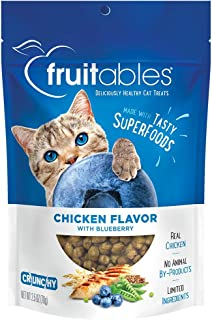 product image for Fruitables Crunchy Cat Treats | Healthy Cat Treats with Limited Ingredients | Low Calorie | 2.5 Ounces