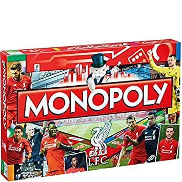 Winning Moves Liverpool Fc Monopoly Board Game