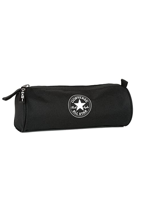 Converse Trousse Simple - Estuche escolar, Negro (negro ...