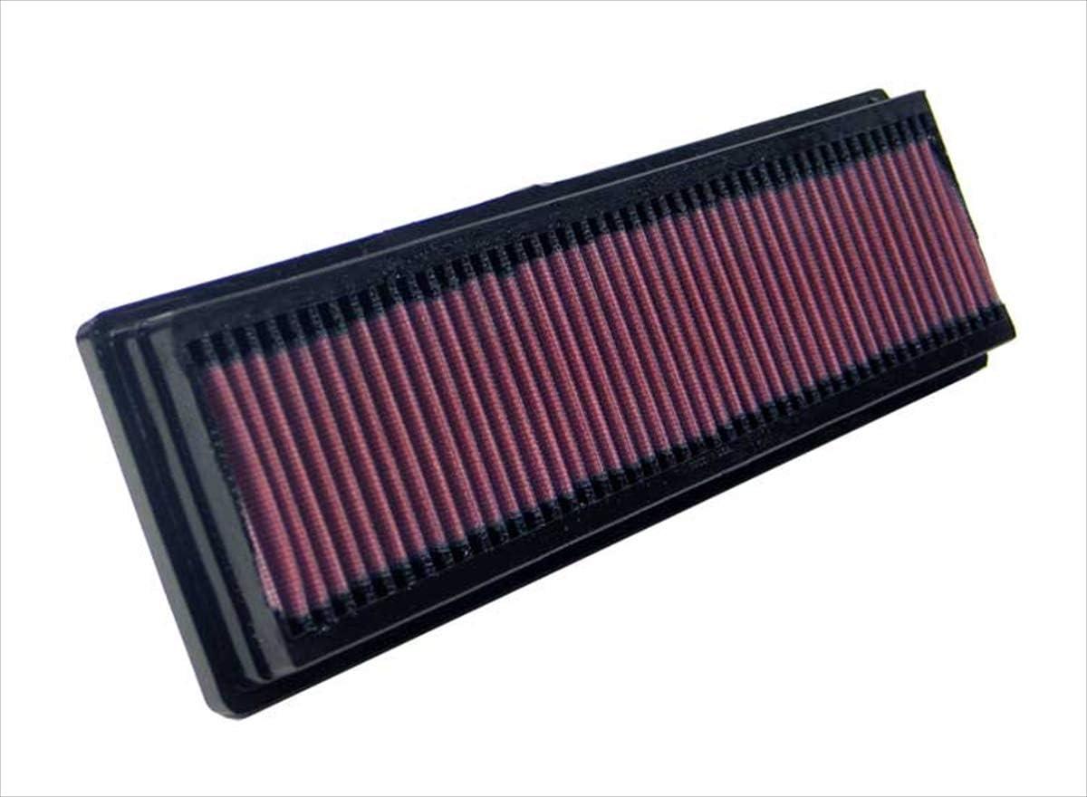 K N Motorluftfilter Hochleistungsfilter Premium Waschbar Panel Ersatzfilter Auto