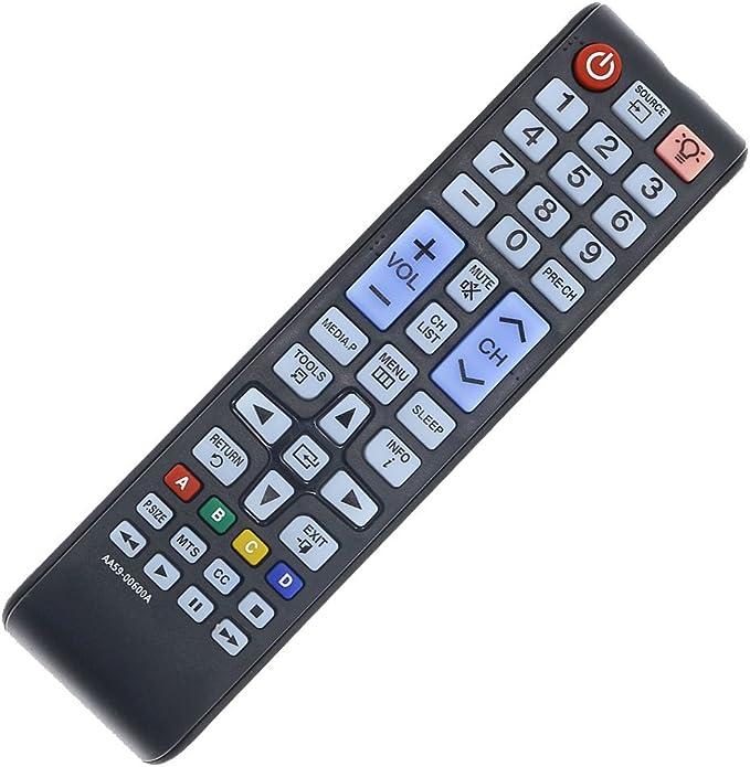 DEHA TV Remote Control for Samsung PS50B850Y1W//XXC Television