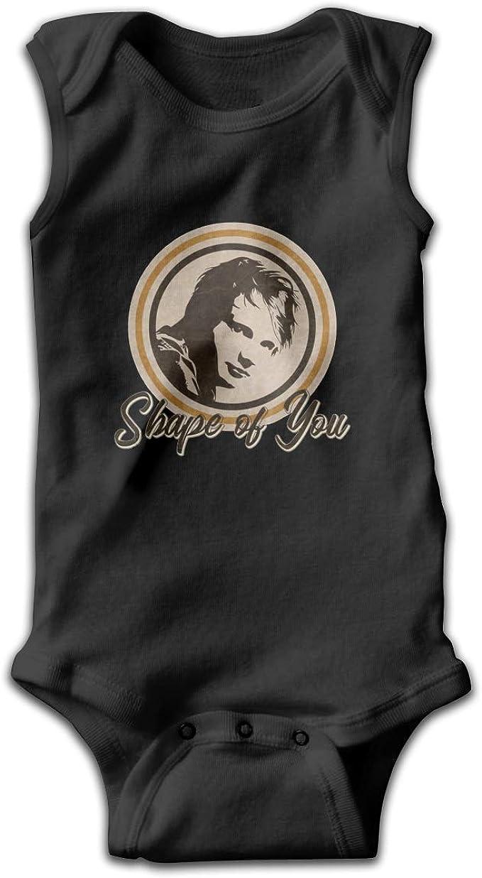 Ed Sheeran - Shape of You Sleeveless Bodysuit Onesies, Unisex Solid Multicolor Baby Bodysuits 0-24 Months: Amazon.es: Ropa y accesorios