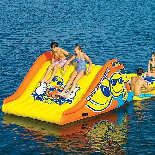 WOW World of Watersports 19-2210 Slide N Smile Floating 2 Lane Waterslide, 9 Feet Long by WOW Sports (Image #2)