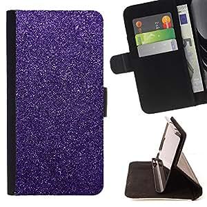 """For Samsung Galaxy A5 ( A5000 ) 2014 Version,S-type Rosa Púrpura nieve del invierno Diamond"""" - Dibujo PU billetera de cuero Funda Case Caso de la piel de la bolsa protectora"""