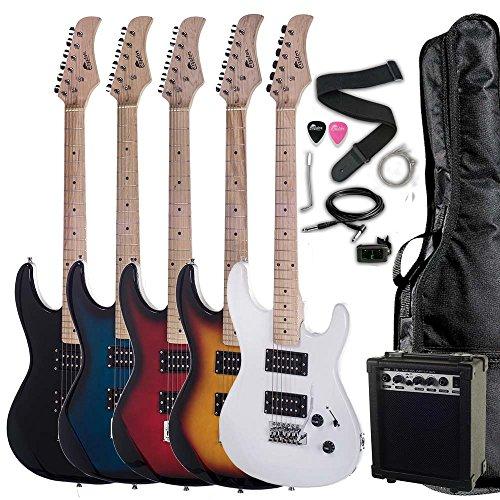 get raptor 39 full size dual humbucker electric guitar full size starter pack with amp gig bag. Black Bedroom Furniture Sets. Home Design Ideas