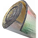 "SOOMJ 10mm/394mil 78"" x 39"",Heat Shield,Car Sound Deadener Material Road Noise Dampener Sound Deadener & Heat Barrier Mat, Closed Cell Foam with Aluminum Sheet 1100(AA)"